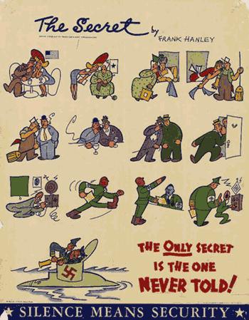 Cartaz na Segunda Guerra Mundial