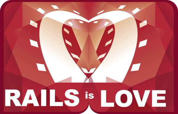 Imagem promocional do framework de programação Ruby on Rails