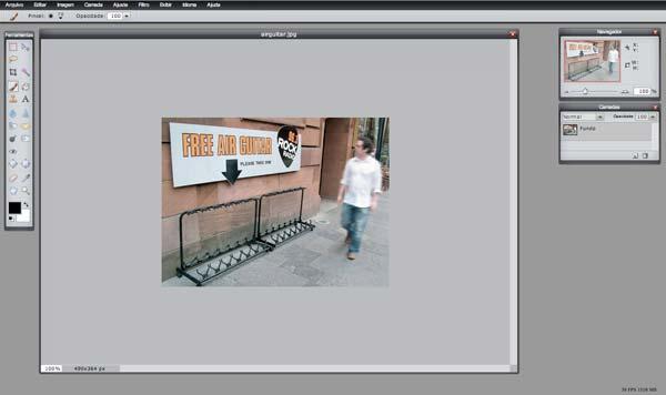 Pixlr, editor de imagens on-line