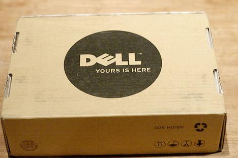 Pacotes sustentáveis da Dell