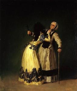 Goya e a beata