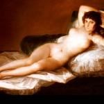 Maja desnuda goya