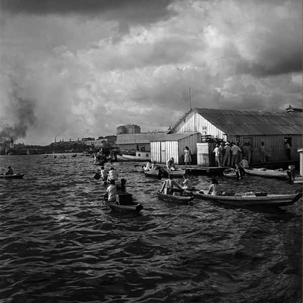 Gautherot Cidade flutuante Rio Negro Manaus blog