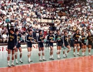 Seleção da geração de prata do vôlei brasileiro