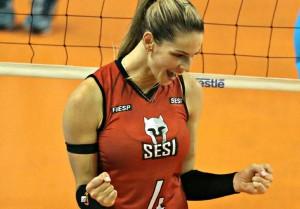 Sesi venceu o Molico e assumiu a liderança na Superliga feminina