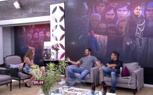 Thiago Lacerda não teve direito a café da manhã com os apresentadores