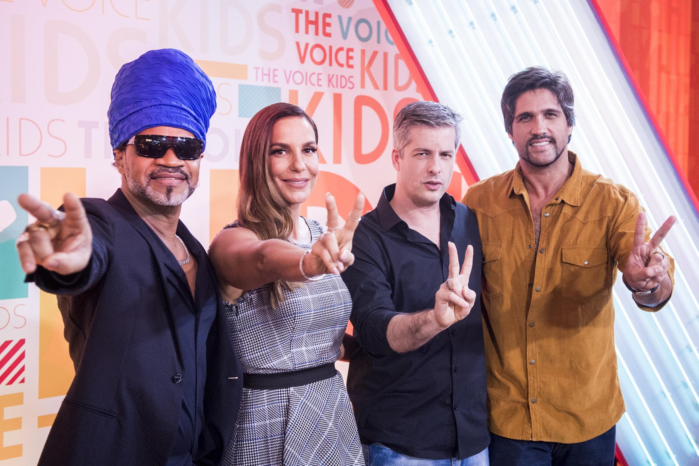 Ivete Sangalo, Carlinhos Brown, Victor e Leo