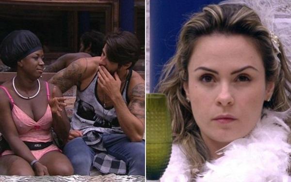 Ana Paula pediu para seus fãs votarem e Adélia e Renan foram eliminados