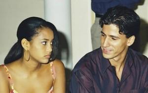Ricardo (Leonardo Brício) tenta estuprar Vivian (Taís Araújo)