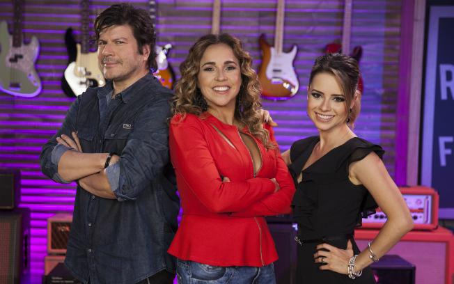 """Paulo Ricardo, Daniela Mercury e Sandy, jurados da terceira temporada do """"Superstar"""" (Foto: Divulgação/TV Globo)"""
