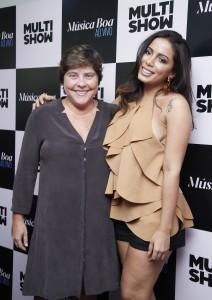 A diretora Stella Amaral é só elogios à nova apresentadora (Foto: Juliana Coutinho/Divulgação Multishow)