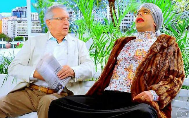 Quadro na Globo citou o SBT, Silvio Santos e até Raul Gil