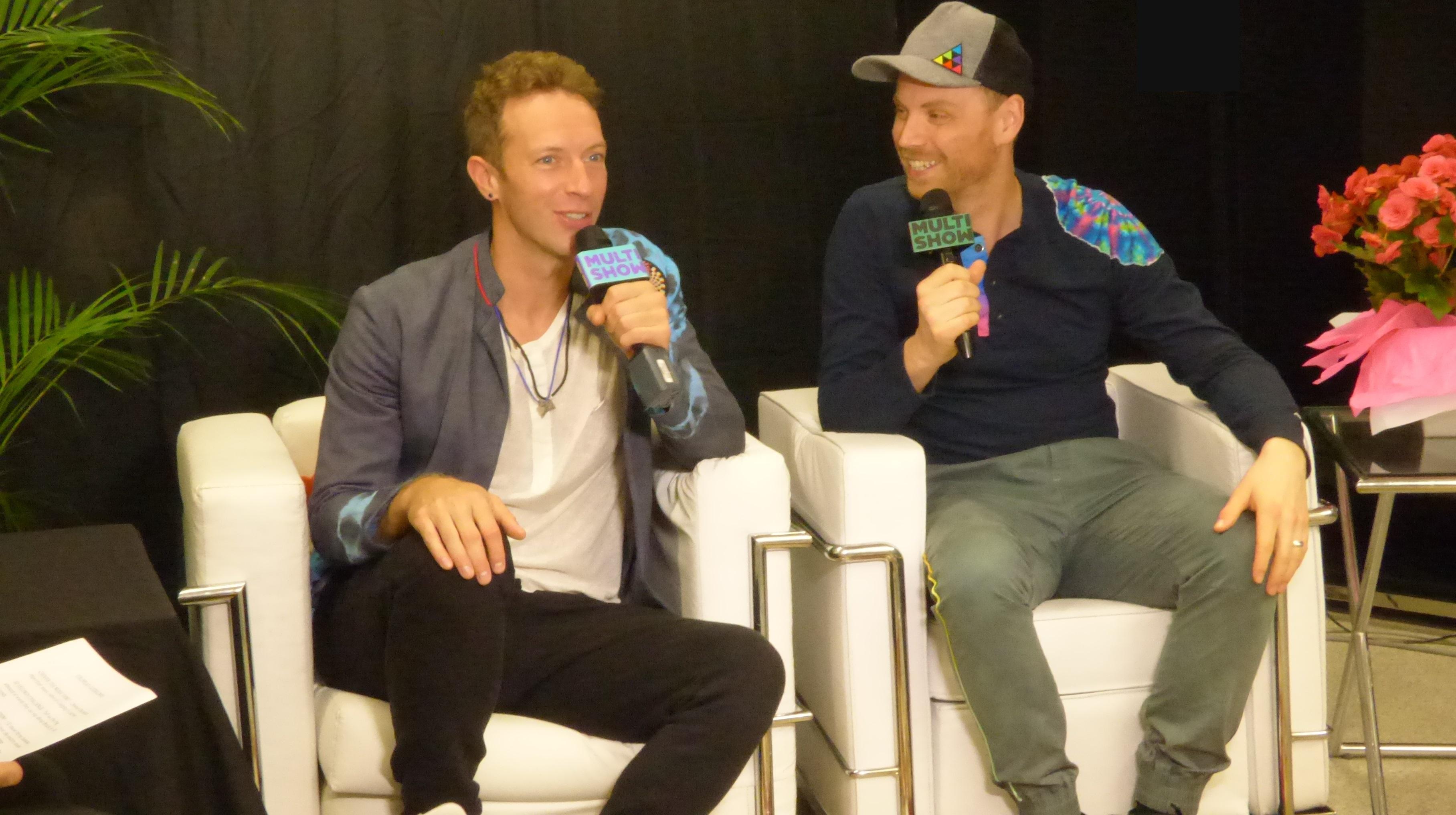 Chris Martin e Jonny Buckland, vocalista e guitarrista do Coldplay, selecionam as suas músicas preferidas