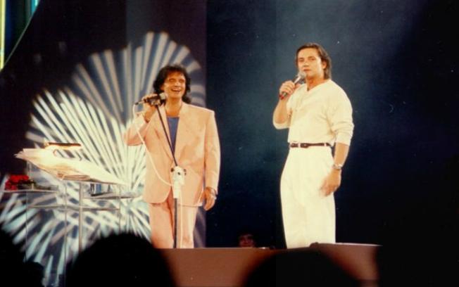 Fábio Jr. dividiu o palco com o Rei no especial de 1994