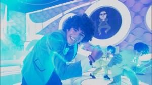 Gabriel Santana como PSY, Gangnam Style