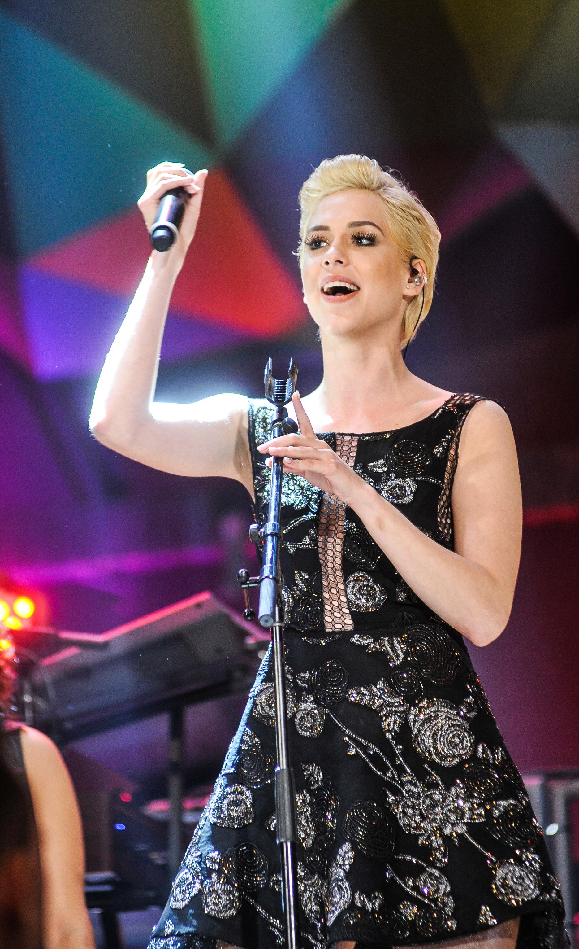 Sophia canta no programa, que vai ao ar sábado (30) (Foto: Globo/Reinaldo Marques)