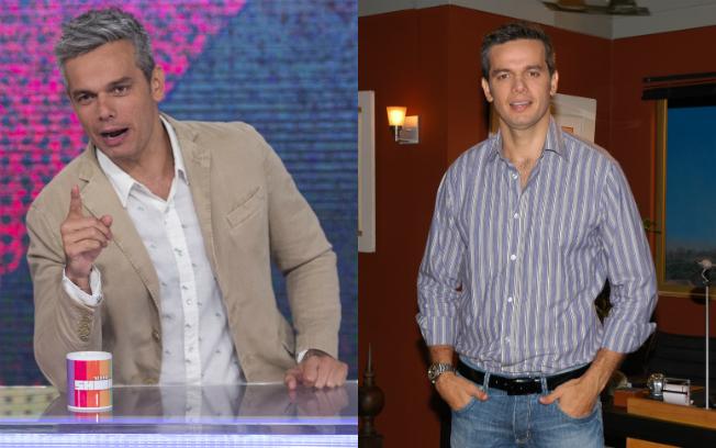 Otaviano em dose dupla nas tardes da TV (Fotos: Estevam Avellar/Globo e Michel Angelo/Record