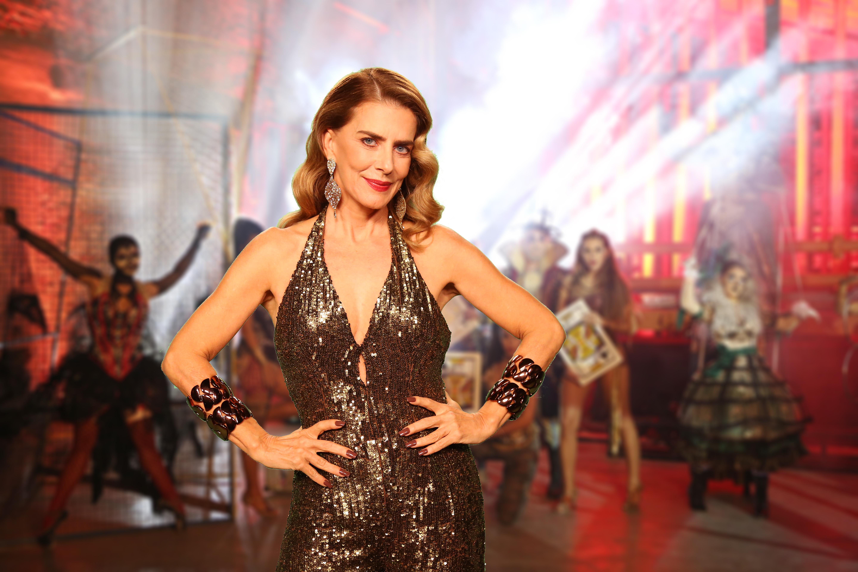Maitê Proença fará mágicas no palco (Fotos: Carol Caminha/Globo)