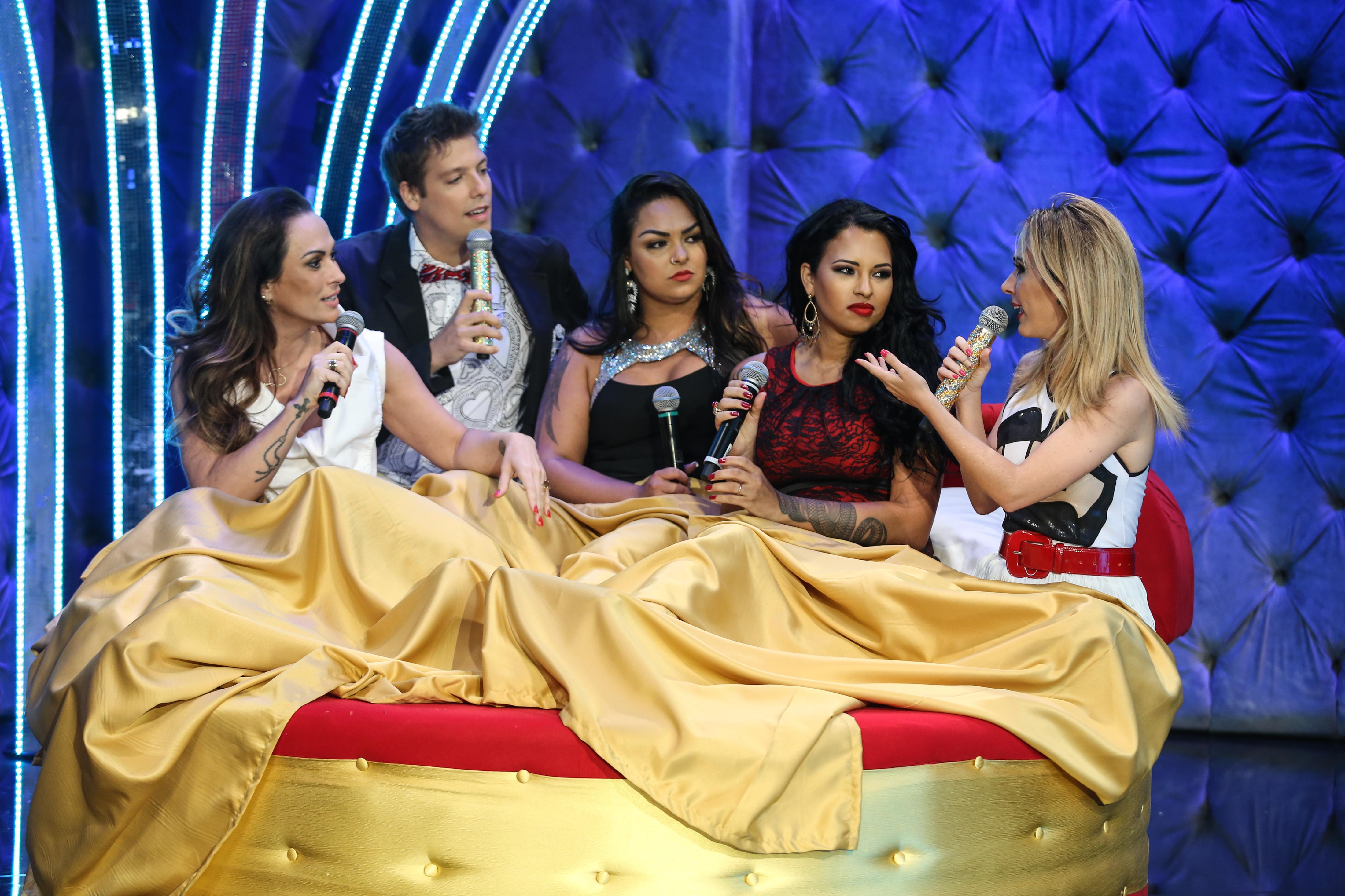 Ariadna, Mulher Melancia, Núbia Oliver tudo pela audiência tatá werneck fábio porchat