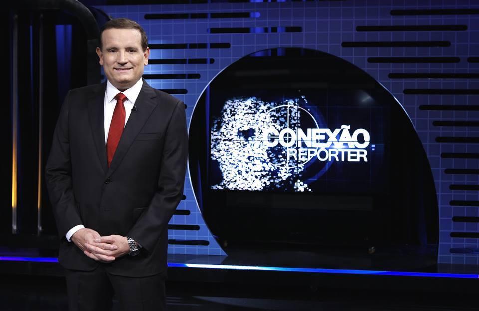 """Roberto Cabrini apresenta há 7 anos o """"Conexão Repórter"""""""