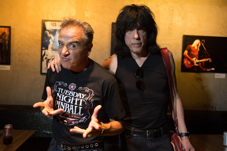 Nasi recebe Marky Ramone no episódio de estreia da quarta temporada (Fotos Aline Arruda/Divulgação)