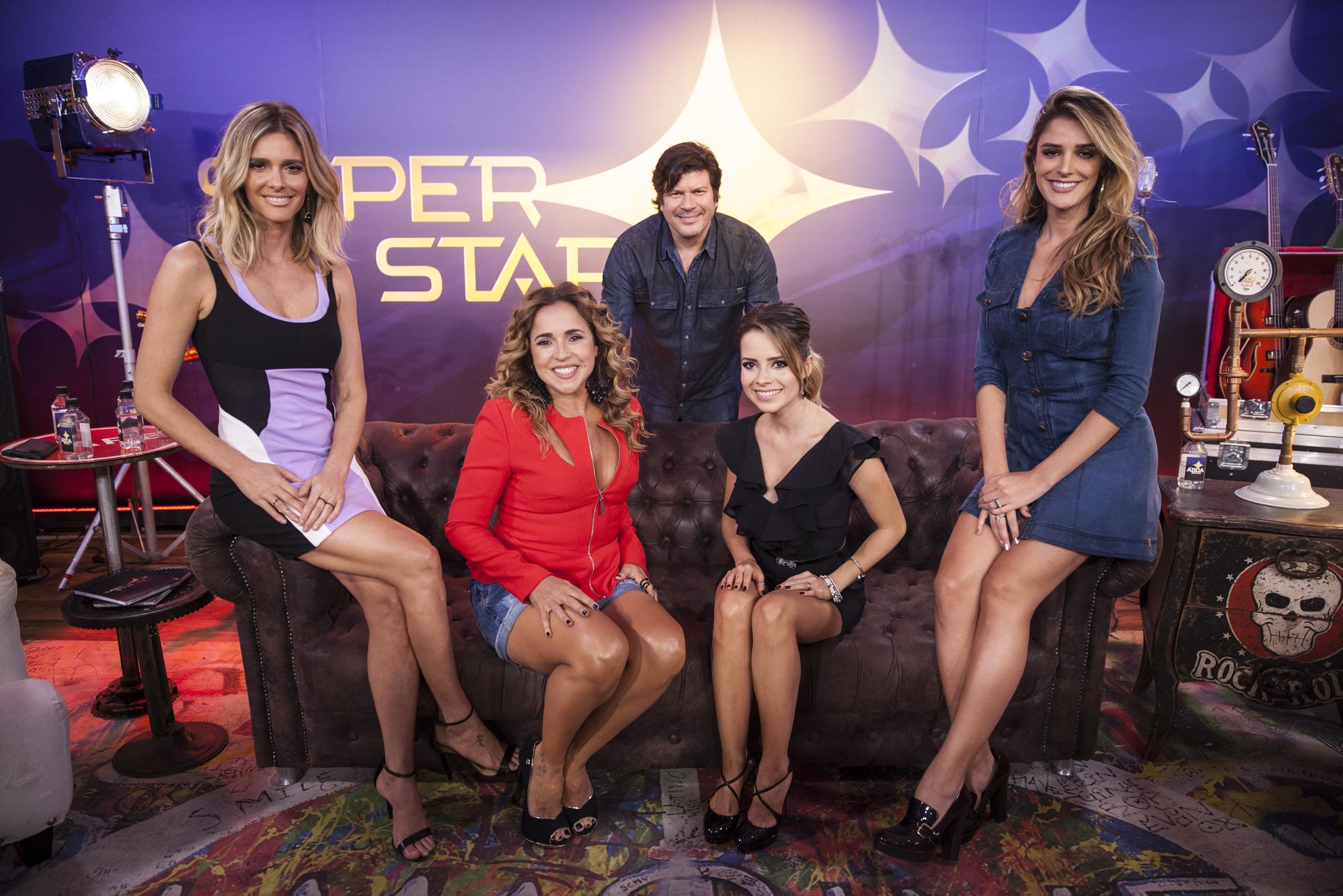 Fernanda Lima, Daniela Mercury, Paulo Ricardo, Sandy e Rafa Brites