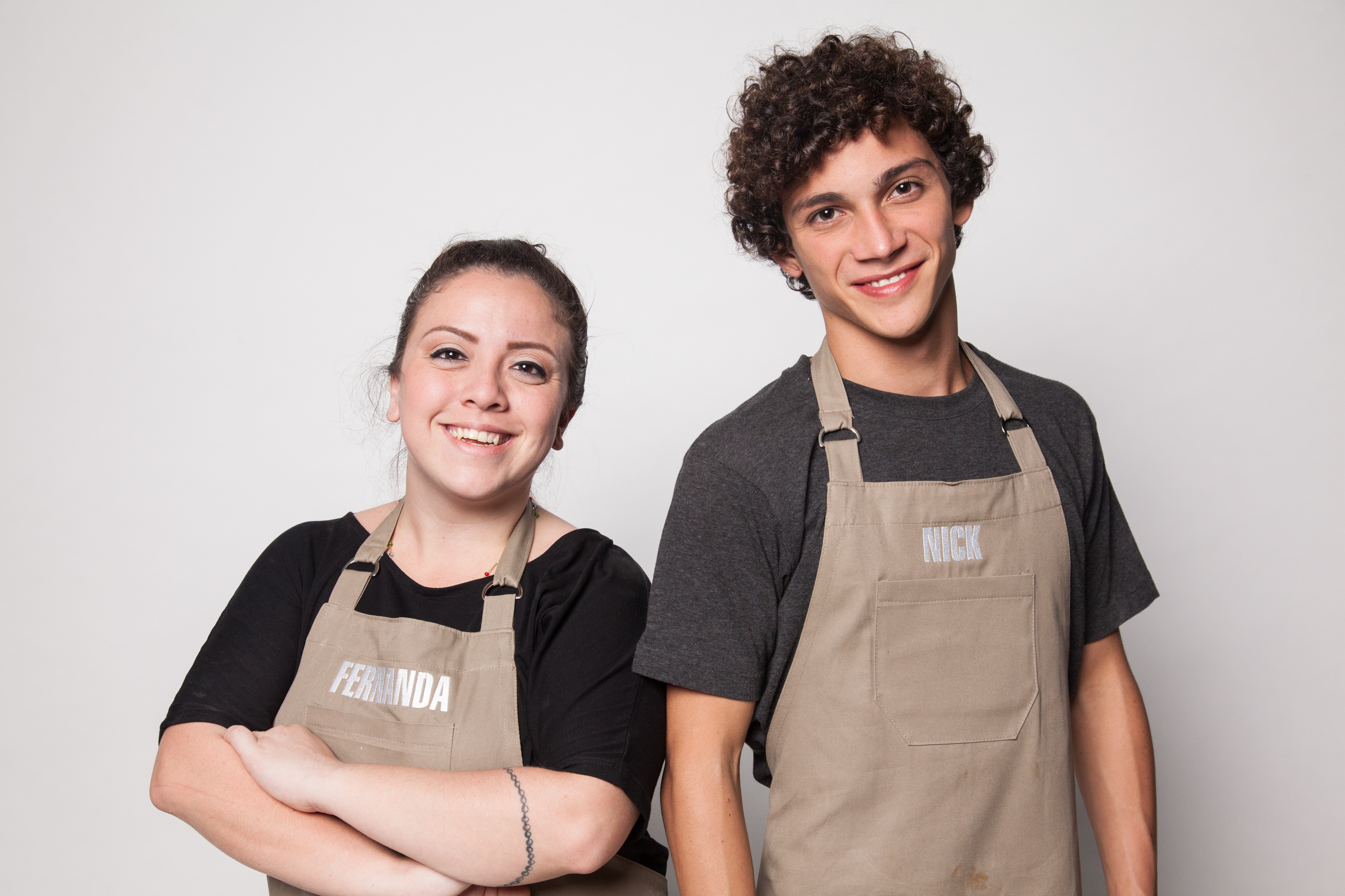 Fernanda e Nick são irmãos