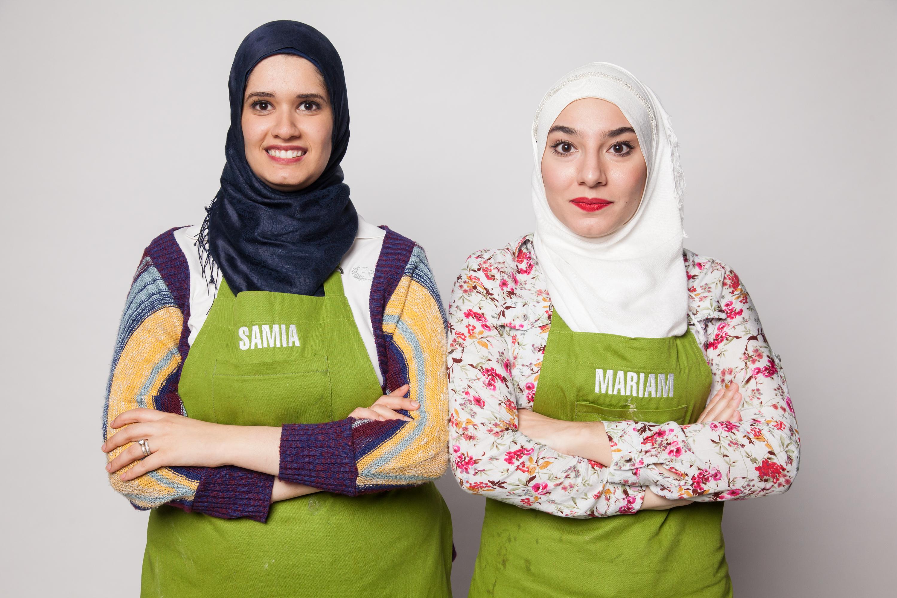 Samia e Mariam são amigas