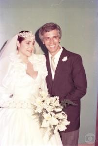 Christiane Torloni e Nuno Leal Maia em A Gata Comeu