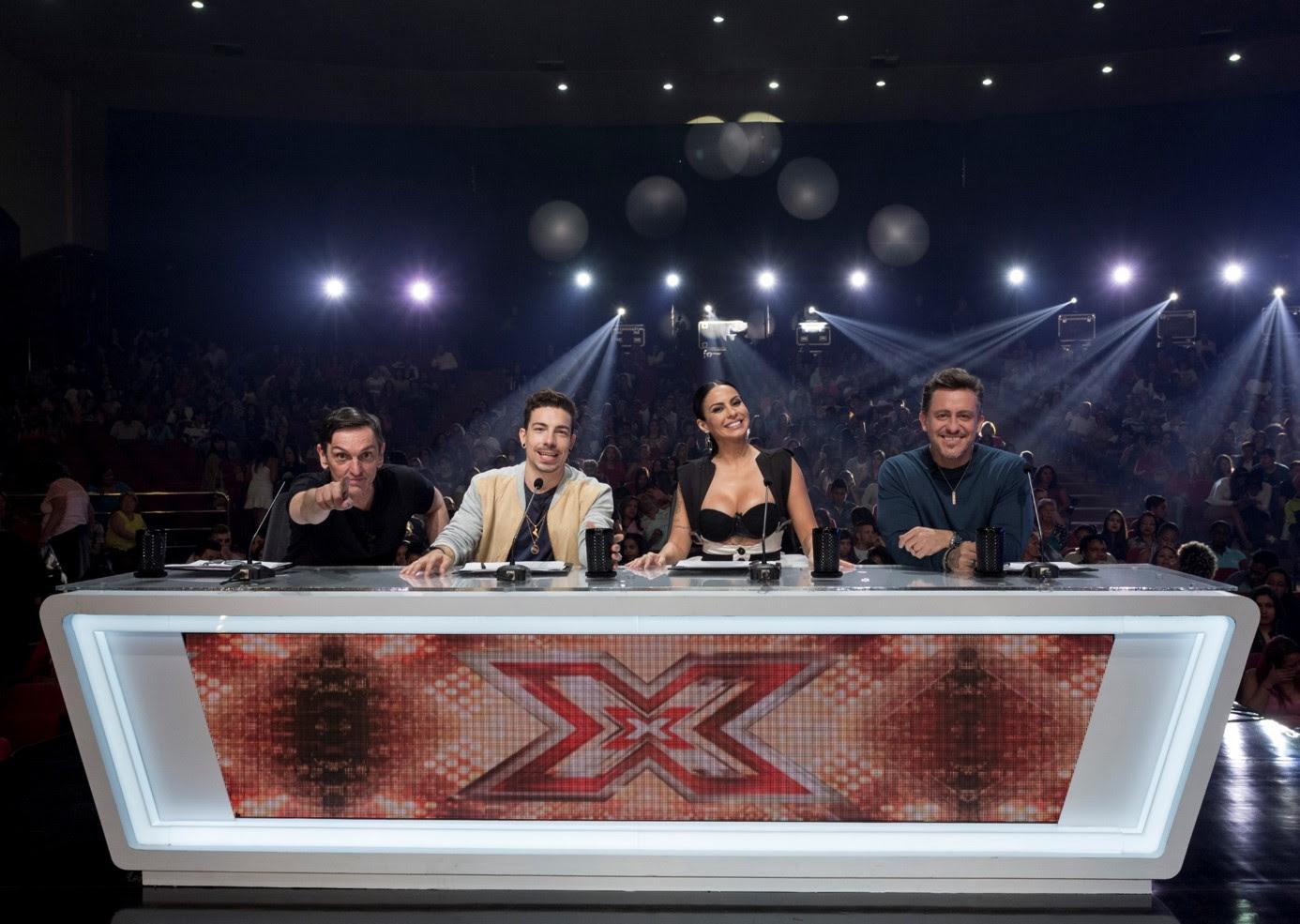 Paulo Miklos, Di Ferrero, Alinne Rosa e Rick Bonadio são os jurados (Foto: Divulgação)