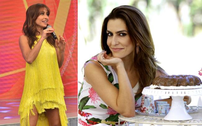 Ticiana Villas Boas tem levado a melhor sobre Sabrina (Antonio Chahestian/Record e Gabriel Gabe/SBT)