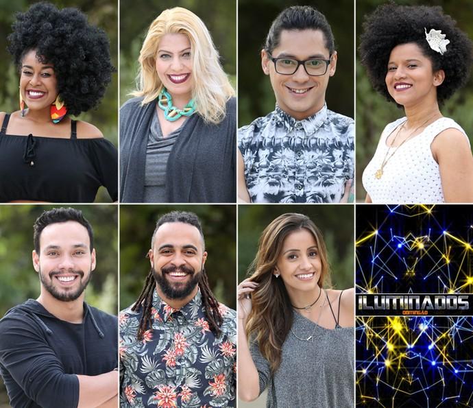 Os finalistas do quadro Iluminados
