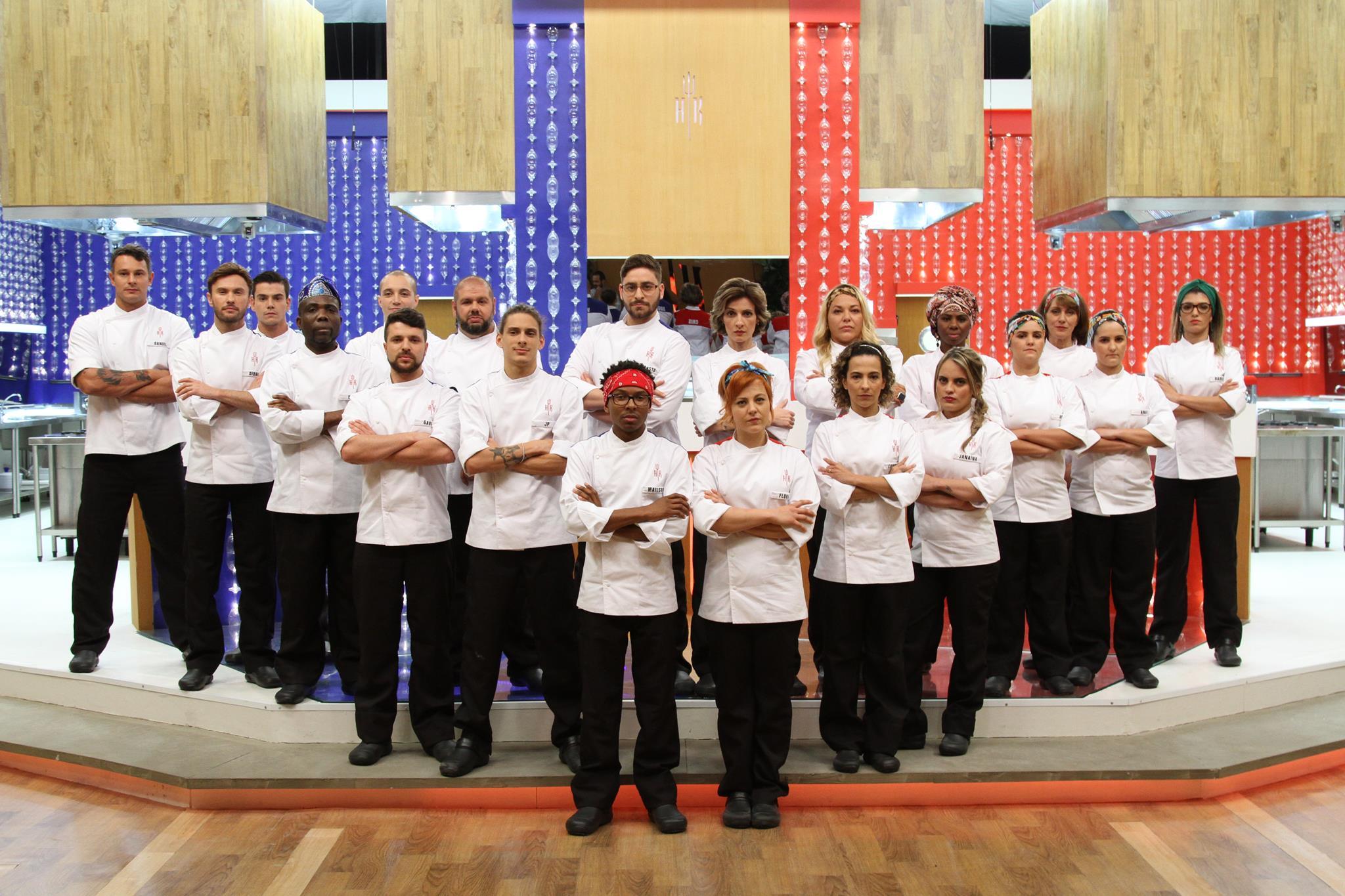 Nesta temporada 10 homens e 10 mulheres disputam o reality culinário (Gabriel Gabe/SBT)