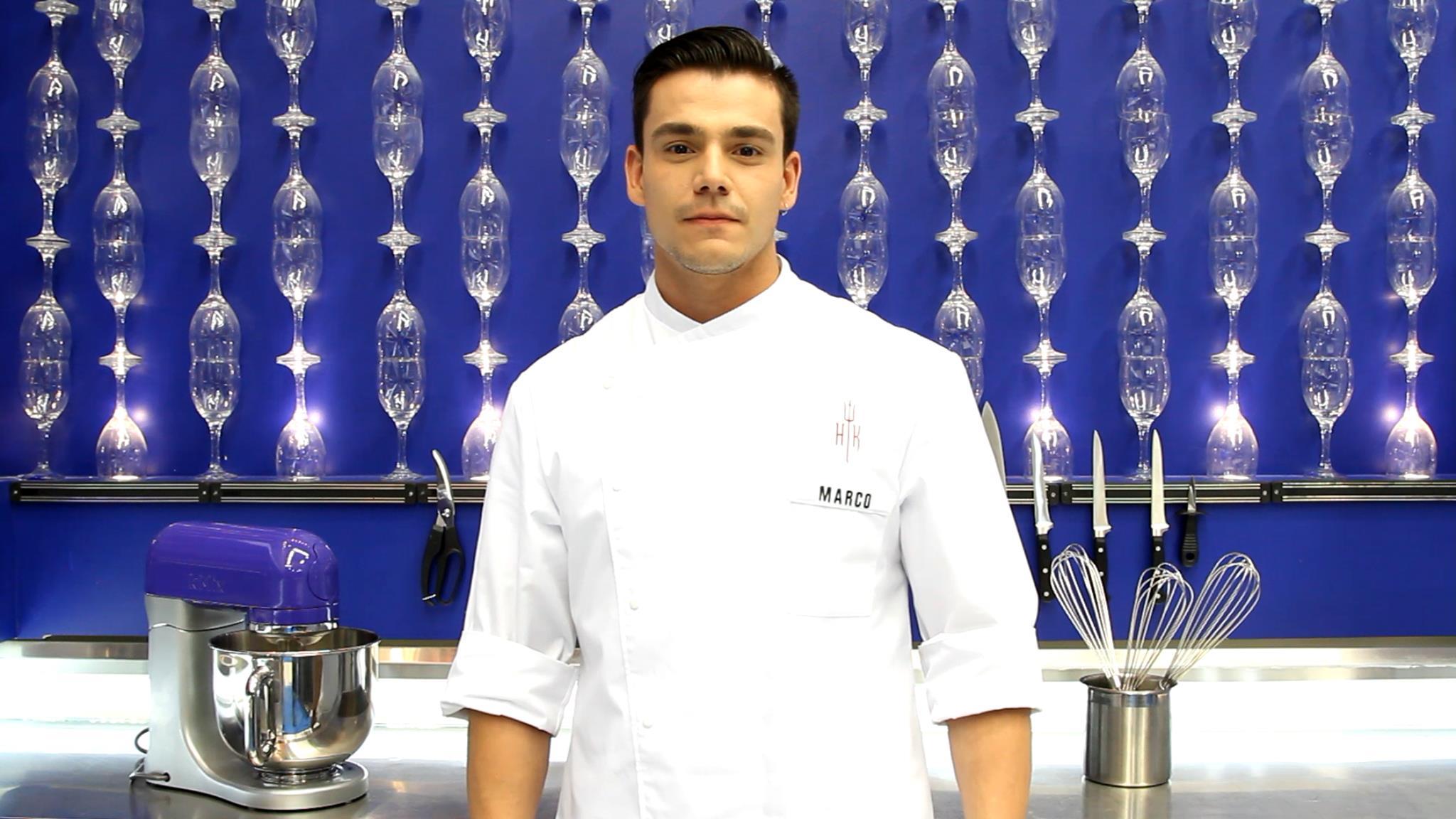 Marco começou a trabalhar na área aos 14 anos, em uma padaria e fez faculdade de gastronomia sem o apoio da família. Atualmente já foi modelo e hoje trabalha como torneiro mecânico enquanto tenta uma vaga na área gastronômica
