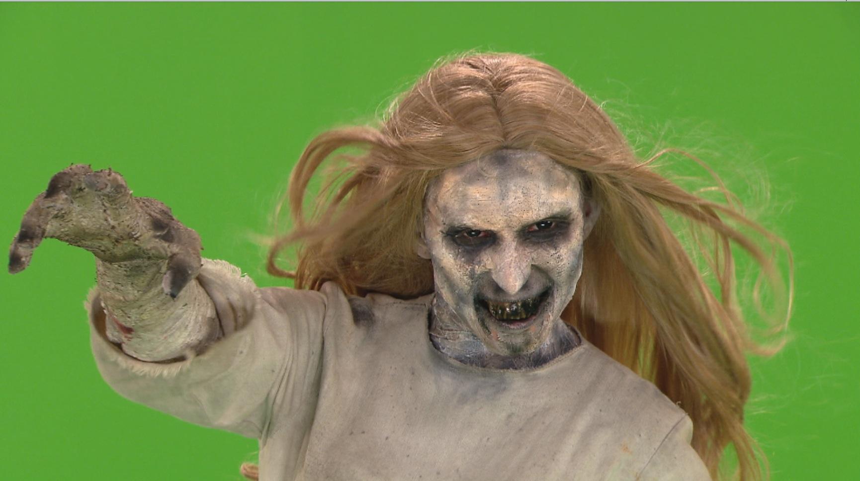 Essa é a nova Menina Fantasma. ME-DO!