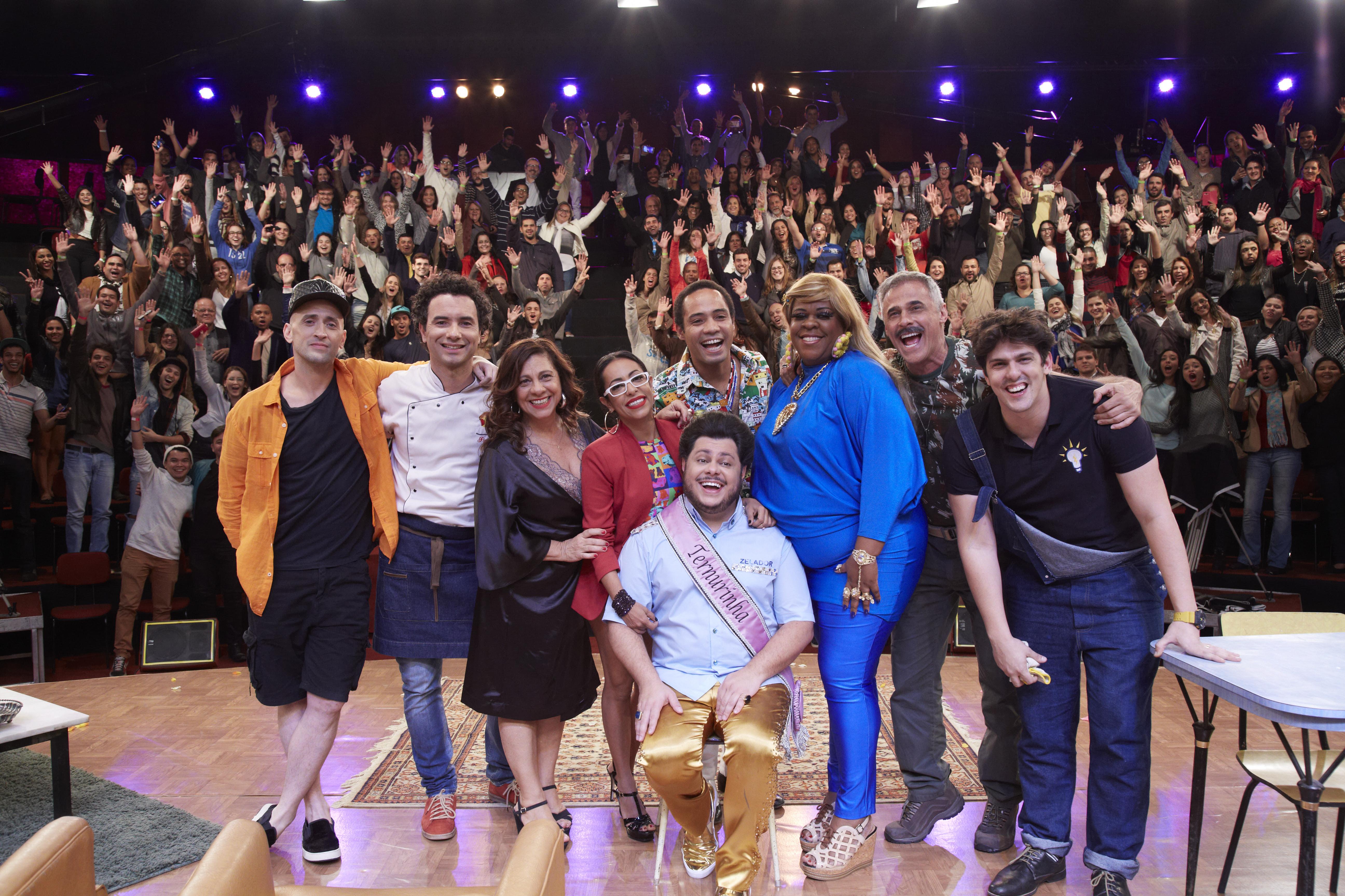 O elenco do 'Vai que Cola', um dos sucessos do canal (Juliana Coutinho/Divulgação Multishow