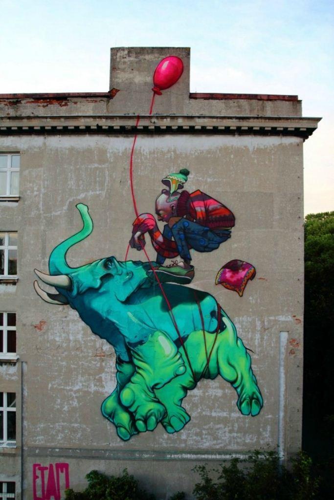 Arte de rua - Incrível