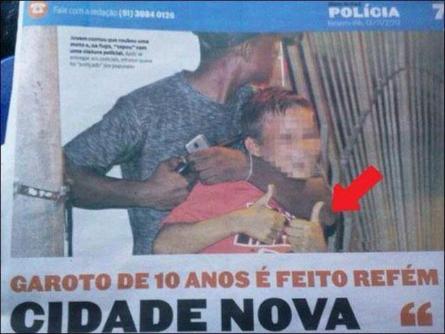 Refém de 10 anos aqui no Brasil