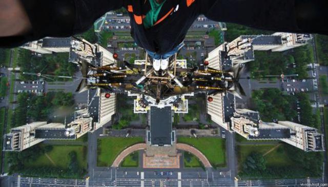 selfies perigosas alto torre