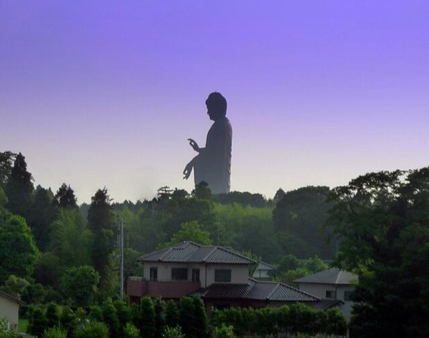 A estátua mais alta do mundo.