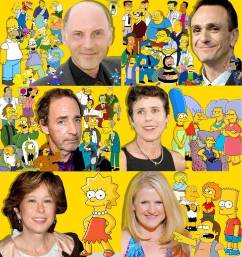 Os rostos por trás dos Simpsons (versão em inglês)