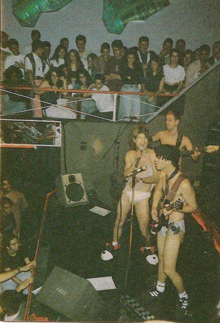 Primeiro show dos Mamonas Assassinas, em Guarulhos