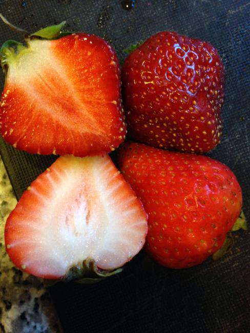 A diferença entre um morango fresco da fazenda e do supermercado