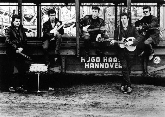 Os Beatles antes de serem populares.