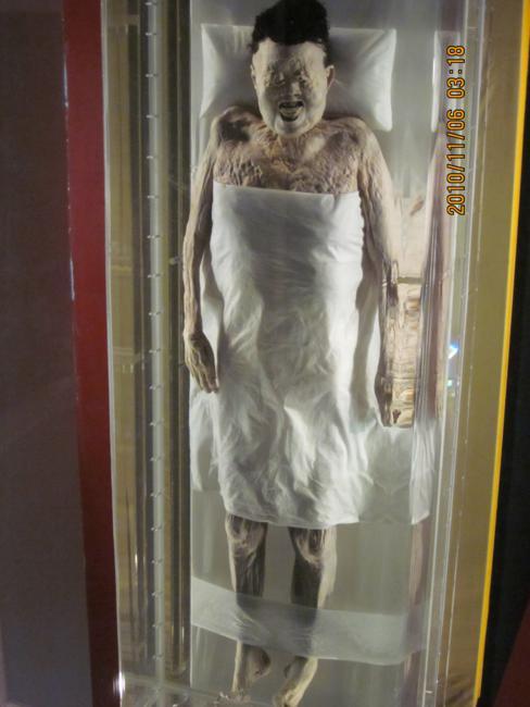 Uma das múmias mais bem conservadas de todos os tempos - Lady Dai, da Dinastia Han, com mais de 2.200 anos de idade.