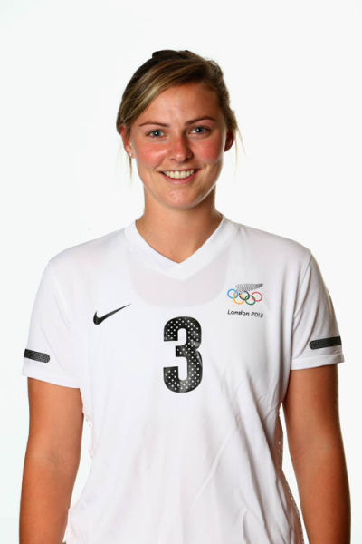 New Zealand Women's Official Olympic Football Team Portraits