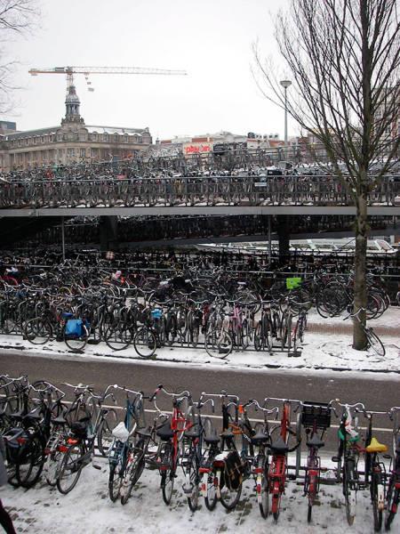 Estacionamento na Holanda