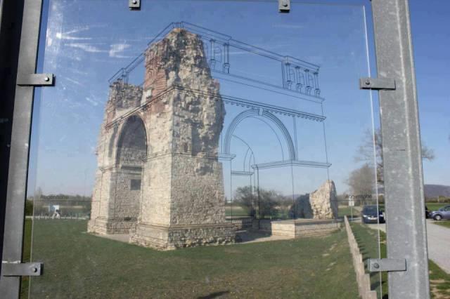 Uma maneira inteligente de mostrar como as ruínas antigas eram