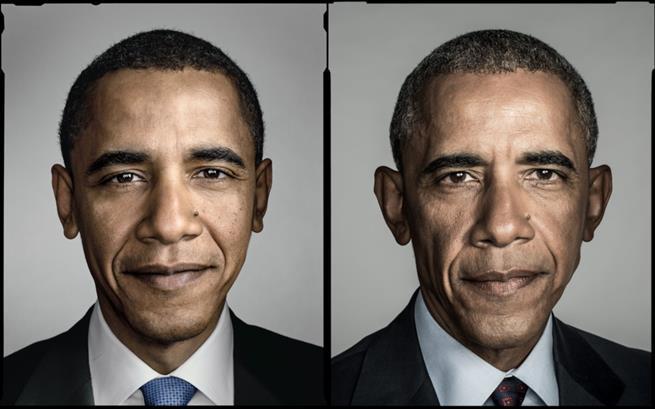 Obama antes e depois da presidência