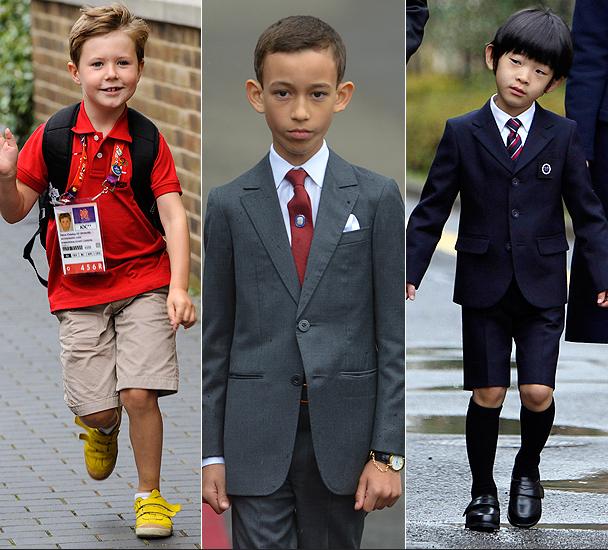 Três jovens herdeiros reais ao redor do mundo: Dinamarca, Marrocos e Japão